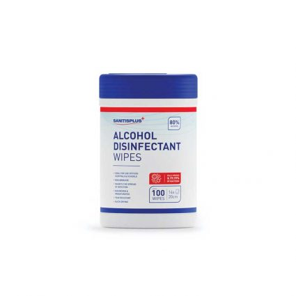80% Alcohol Disinfectant Wipes