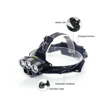 LED Waterproof Headlamp 350000 Lumens